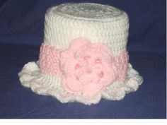 White and Pink Toilet Paper Roll Cover by KathKrafts on Etsy