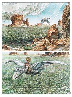 The Art of Paolo Eleuteri Serpieri : Photo High Fantasy, Fantasy Art, Georges Wolinski, Serpieri, Hero's Journey, Story Characters, Light Of Life, Ride Or Die, Heavy Metal