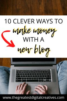 Is it possible for you to make money with a new blog? Here are clever ways of how new bloggers make money from home. #howtomakemoneyblogging #bloggingtipsforbeginners #workathome #workfromhome