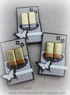 Merci Chocolate, Chocolate Gifts, Chocolate San Valentin, Diy Gifts, Handmade Gifts, Treat Holder, Candy Gifts, Halloween Cards, Stamping Up