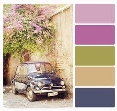 Color Palette vintage