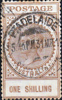 South Australia 1904 Long Tom SG 288 Fine Used SG 288 Scott 140 Other Australian Stamps here