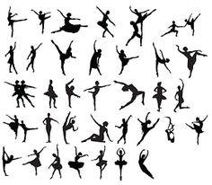 KLDezign les SVG: Des ballerines!