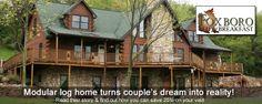 prefab log homes with pricing | Modular Homes | PreFab Homes | ExpressModular.com