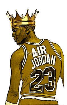 "Michael ""Air"" Jordan - King by Ash94"