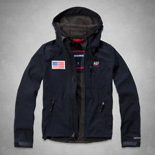 We should've let A&F make the Olympics Opening Ceremony uniforms instead of ol' Ralph  Mens A&F Active Soft Shell Jacket
