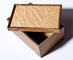 Louise Fuller - Box - Bird's Eye Maple