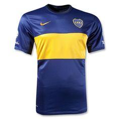 Boca Juniors 12/13 Home Soccer Jersey #Boca #Argentina
