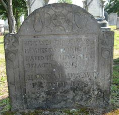 James Osgood 6th Great Grandfather Hannah Hazen Osgood 6th Great Grandmother Inscription: Here lyes the body of Mr. James Osgood. He de parted this life Aprile 6 1757 aged 50 years. Hannah his Wi fe died 178(7?) Burial: Old North Cemetery Concord Merrimack County New Hampshire, USA **Created/Photo by: Amy Levesque** Record added: Jan 28, 2013 Find A Grave Memorial# 104273804