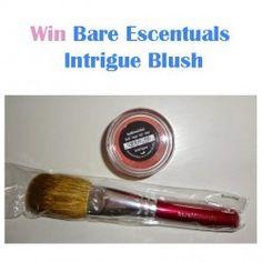 Win Bare Escentuals Intrigue Blush ^_^ http://www.pintalabios.info/en/fashion-giveaways/view/en/3188 #International #MakeUp #bbloggers #Giweaway