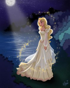 The swan princess art♥️💕🦢🌷
