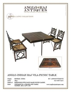 ANGLORAJ ANTIQUES | OCCASIONAL TABLES