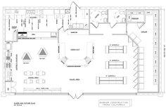 Boutique free flow store layout floor plans pinterest for Boutique design consultancy