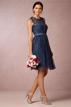 Celia Dress in Bridal Party & Guests Bridesmaids Dresses at BHLDN Navy