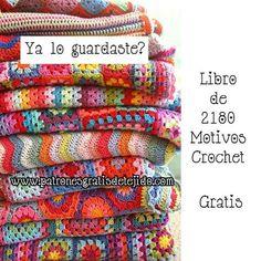 67 Ideas crochet mantas trapillo for 2019 Crochet Diy, Crochet Simple, Mode Crochet, Crochet Gratis, Crochet Motifs, Crochet Squares, Crochet Home, Crochet Stitches, Crochet Patterns