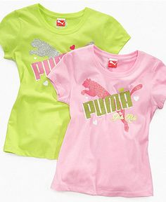 Puma Kids Shirt, Girls Rule Tee - Kids Girls 7-16 - Macy's