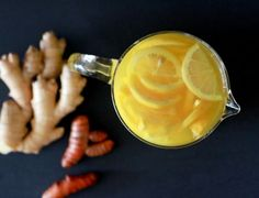 Ginger Turmeric Detox Tea Recipe | Improved Aging