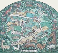 The Eversholt Parish Map mosaic