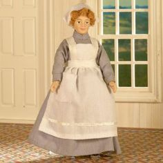 Beryl the Cook Doll - So much choice - Dolls' House Shops - Room Displays - DHE Australia