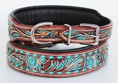 Puppy Collars, Leather Dog Collars, Leather Buckle, Leather Tooling, Cow Leather, Tooled Leather, Dog Treat Packaging, Small Rings, Pet Puppy