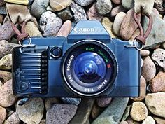 Kamera, Canon, T70, Analog, Vintage, Alt
