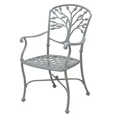 Shop Woodard  8F0410 Heritage Outdoor Dining Arm Chair at The Mine. Browse our outdoor dining chairs, all with free shipping and best price guaranteed.