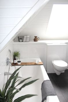 #attic #bathroom | @bingbangnyc