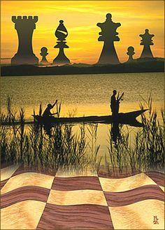 échecs art