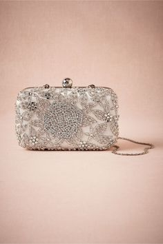 Crystal Rose Clutch in Shoes & Accessories Clutches at BHLDN