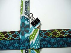 Fabric Star Ornament Tutorial - Betz White