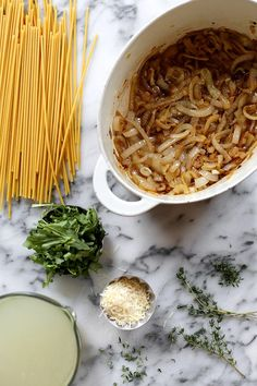 One Pot French Onion Pasta