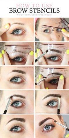 eyebrow-stencils-how-to-hacks-tips-tricks