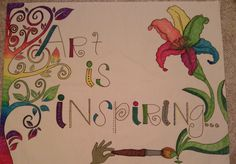 I can't wait to put my new banner in my first art classroom! Classroom Banner, Art Classroom, First Art