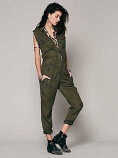 Gunner Utility One Piece by Etienne Marcel @ freepeople.co.uk