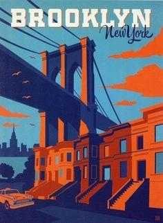 Brooklyn Bridge - Manhattan, New York / Vereinigte Staaten von Amerika / United States of America / USA