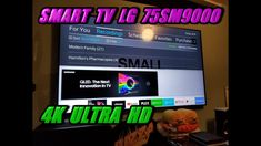 "SMART TV LG 75SM9000 75"" 4K ULTRA HD LED NANOCELL ! SMART TV LG 75SM9000... Join Amazon Prime, Best Amazon, Twitch Prime, Hd Led, Smart Tv, Audiobooks, Make It Yourself, Youtube, Youtubers"