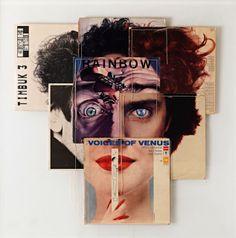 Creative album covers collages