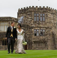 Wedding at Skipton Castle Medieval Castle, Sequin Skirt, Sequins, Wedding, Fashion, Valentines Day Weddings, Moda, Sequined Skirt, Fashion Styles