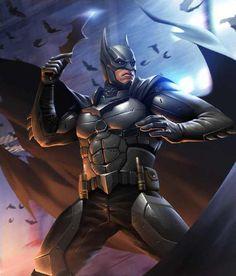 Batman from Injustice 2 Mobile Batman 2 Batman Artwork, Batman Wallpaper, Batman The Dark Knight, Dc Comics Art, Marvel Dc Comics, Cosmic Comics, Hulk Marvel, Bob Kane, Injustice 2 Batman