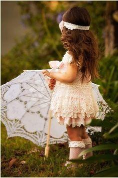 awww....love this! boho flower girl!