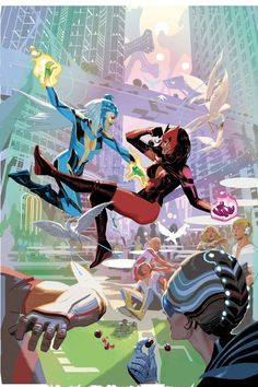 Daniel Acuña - Uncanny Avengers