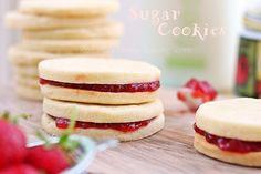 lemon sugar cookies by RoxanaGreenGirl | Roxana's Home Baking, via Flickr