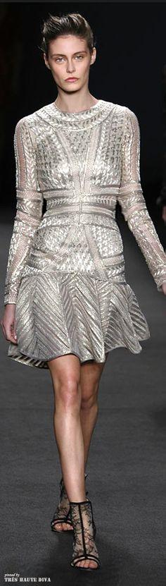 #NYFW Monique Lhuillier Fall 2014 RTW http://www.wwd.com/runway/fall-ready-to-wear-2014/review/monique-lhuillier