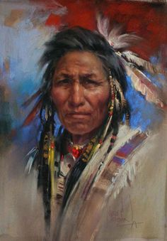 *Grand Chief* by Harley Brown.