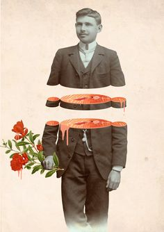 New Surreal Collage Works by Julia Geiser | iGNANT.de