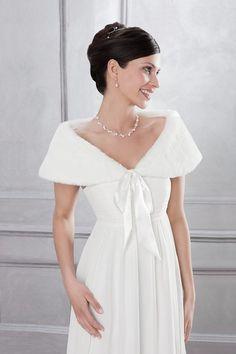 stole by emmerling michelangela bridal boutique sa wwwmichelangelacoza - Bolero Mariage Blanc