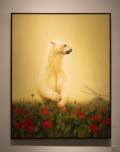 a painting from  solo showing entitled Empire by Martin Wittfooth