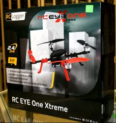 The RC Eye One Xtreme quadcopter. Brushless motors and easy handling make this one very popular!