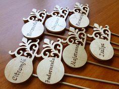 andakreativ: Pirográfia Coasters, Place Cards, Place Card Holders, Coaster
