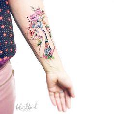 Nature Inspired Tattoo by Luiza Oliveira